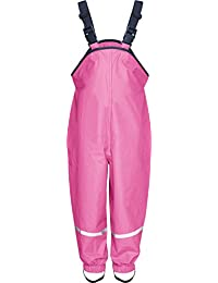 Playshoes Rain Dungarees Waterproofs Easy Fit Baby Girl's Trousers