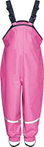 Playshoes Regenlatzhose 405424 Unisex - Kinder Hosen/ Lang, Gr. 80, Rosa (pink 18)