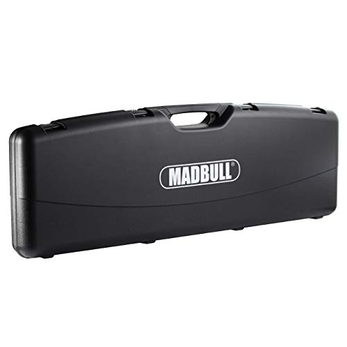 Madbull Waffenkoffer Deluxe 119 x 41 x 12 cm mit Zahlenschlössern schwarz
