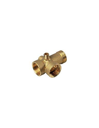 Brico-materiaux - Raccord laiton / 5 voies