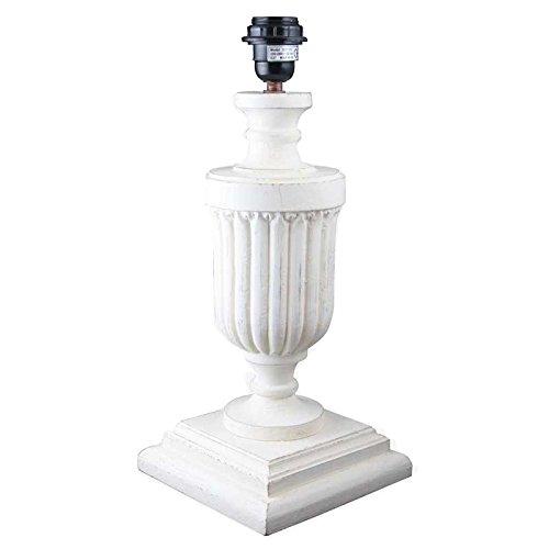 Better & Best 2811102-Lampada da tavolo in legno con forma di bicchiere con gallones con base quadr
