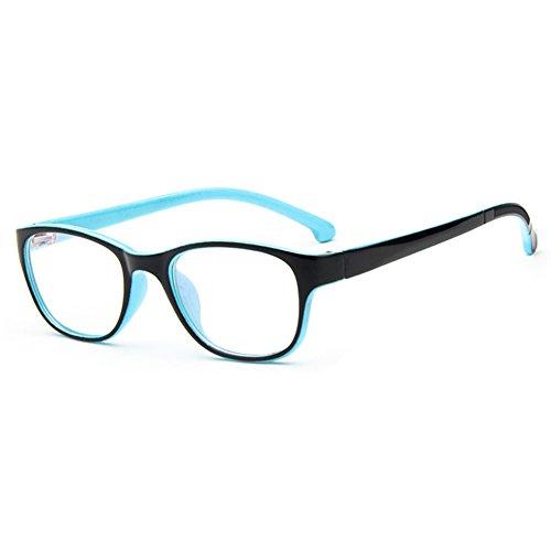 Juleya Kinder Gläser Rahmen - Kinder Brillen Clear Lens Retro Reading Eyewear für Mädchen Jungen 112210