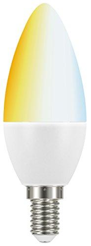 tint, das smarte Lichtsystem von MÜLLER-LICHT, LED-Kerzenform E14 white, unterschiedliche Weißtöne (2700 - 6500 K), Zusatzlampe: Erweiterung des tint-Lichtsystems