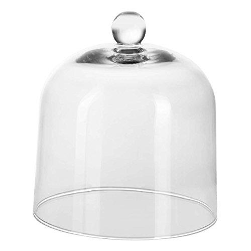 ASA Grande Cloche en verre, Verre, transparent, Ø 20,5 x H 22,3 cm