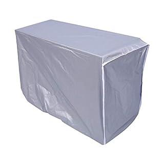 Zerodis Housse pour climatiseur extérieur Couverture imperméable de climatiseur de couverture de climatiseur extérieur (80*28*54cm)