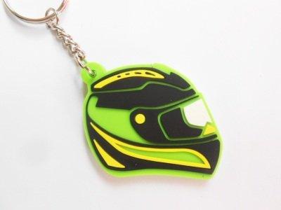 Keychains llavero Casco Verde Kawasaki