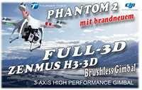 DJI Phantom 2 Quadcopter + Zenmuse H3-3D Combo (Multirotor) - Direkt vom Hersteller