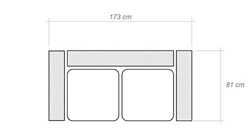 Sofa-Set Manoel (3+2) - 3