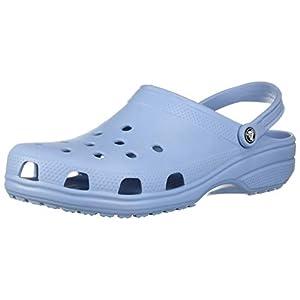 Crocs Classic 1001, Sabot Unisex – Adulto, Blu (Chambray Blue), 37/38 EU