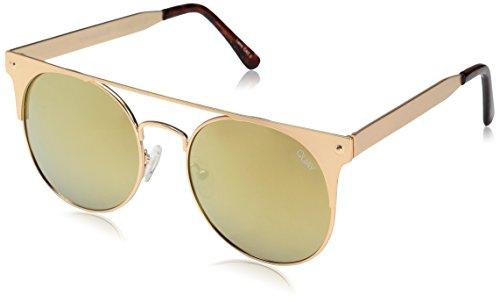 Damen Sonnenbrille Quay Australia The In Crowd Gold Sonnenbrille