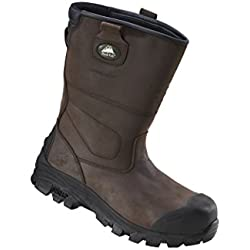 Rock Fall RF70 Texas 3 – Botas de seguridad, color Marrón, Talla 47