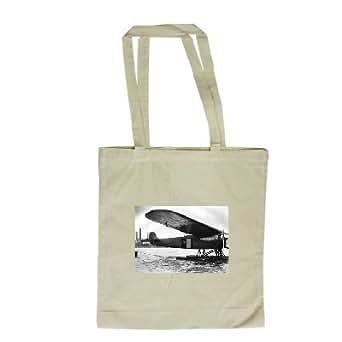 The Atlantic flying boat Friendship at.. - Long Handled Shopping Bag