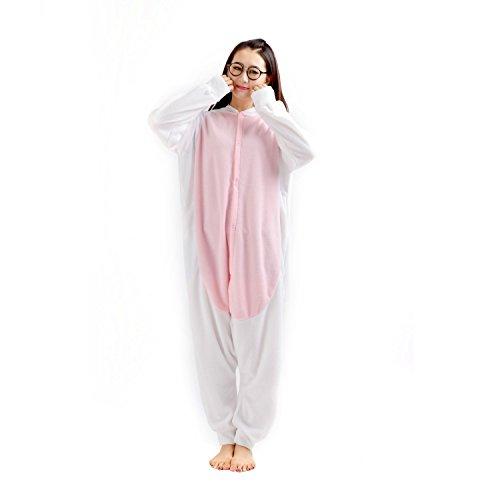 Imagen de darkcom  disfraz de animal unisex para adulto sirve como pijama o cosplay sleepsuit de una pieza cabra alternativa