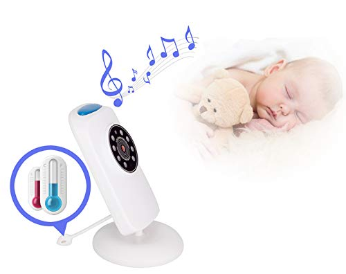 LifetSmart Baby Monitor,Digital Video Baby Monitor 700FT Operating Range with Infrared Night Vision,Two Way Talk,Ambient Light,Temperature Sensor and 5 Classic Lullabies LifetSmart UPGRADED 2018 VERSION :This baby monitor featured with 2.4ghz Fhss wireless technology which won't interfer wifi.With camera allows you to monitor the baby's activities in real time without missing any precious moment. You can also use the baby monitor to check elders. TWO-WAY TALK:Built-in high sensitivity microphone and speaker,the digital video baby monitor allows you to talk with your baby with the sound of your own voice to comform him/her when they are crying. NIGHT VISION & AMIENT LIGHT :Equipped with automatic night vision function,it will automatically detect light conditions and provide clear images to see your baby during the night. There is also a warm nightlight on the top of the camera which can create a comfortable atomasphere for baby. 2