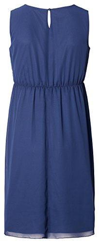 Noppies Dress Sl Britt, Vestito Maternità Donna Blu (Medium Blue C145)