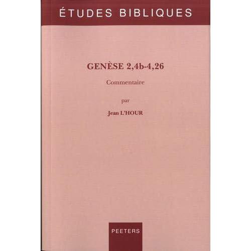 Genèse 2,4b-4,26