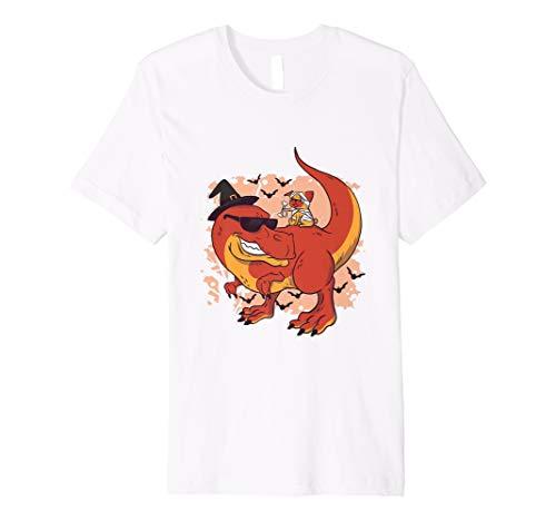 Dinosaurier Hexe und Hunde Mumie T-Shirt