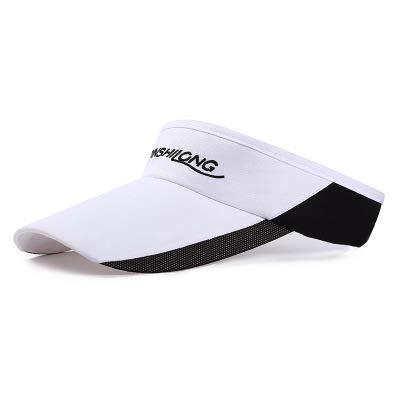 ShopSquare64 DP-503 Sports durchlässiger Sunblocker, der Tennis-Kappe im Freien-Sonnenschutz Hut Laufen läSST