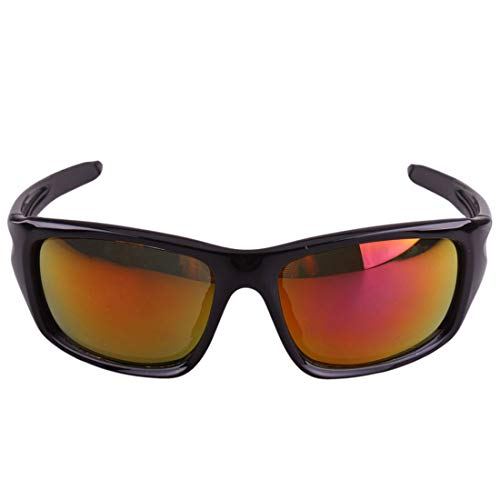 Retro Vintage Sonnenbrille, für Frauen und Männer Polarisierte Sport Sonnenbrille pc Full Frame langlebig rutschfeste für männer Frauen Outdoor Meer Reise Angeln Fahren Klettern reiten
