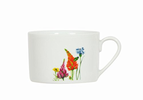 Novastyl 8010357 Lot de 6 Tasses A The Porcelaine 22 cl Champetre