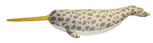 ADORE 21 Torpedo the Narwhal Plush Stuffed Animal Toy by Adore Plush Company