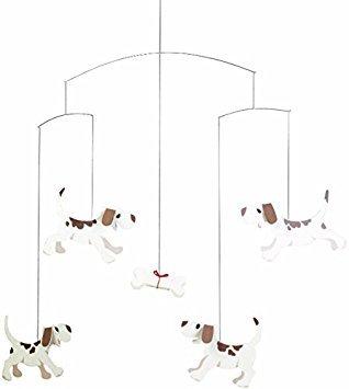 Flensted Mobiles - Hunde Träume - Mobile/Windspiel - Karton - 50 x 50 cm