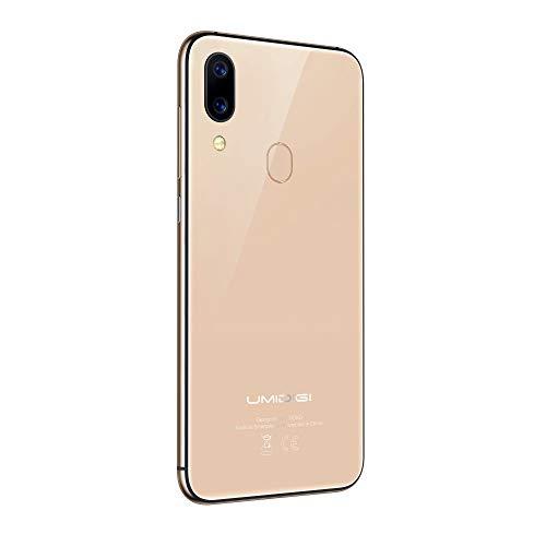 """Fulltime E-Gadget Smartphone, 5,5 Zoll Global Band 5.5""""2 GB RAM + 16 GB ROM Android 8.1 Dual-SIM 720 x 1440 Auflösung Gesicht Entsperren 4G-Handy (Gold)"""