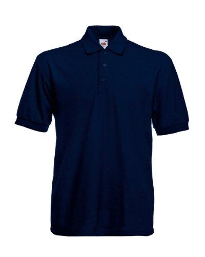 FOTL schweres Piqué-Poloshirt 65/35 (DE) Blau - Dunkles Marineblau
