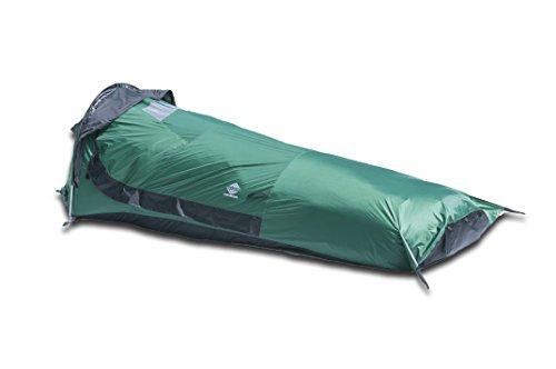 Aqua Quest Hooped Tente De Bivouac Abri Tanche Pour Une Personne Vert Ou Orange