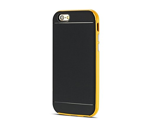 Phone case & Hülle Für iPhone 6 / 6S, Bumblebee Slim Hybrid PC Frame & TPU Schutzhülle ( Color : Yellow ) Yellow