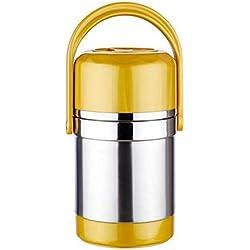 ERTO Thermos Alimentaire Chaud Bouteille de Nourriture Baril Isolé en Acier Inoxydable Baril Portable Boîte à Lunch Grande Capacité (2.0L, 3.0L)