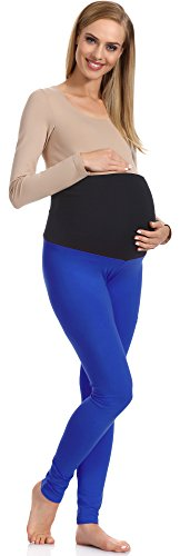 Be Mammy Damen Umstandsleggings 70 (Kornblume, XL)