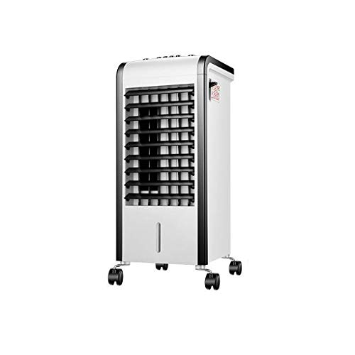 Uus Haushalts-Energiesparventilator, Dual-Use-Licht und Schwarz-Weiß-Klimaanlage Ventilator Kleine Abnehmbare Schlafzimmer Luftkühler 80W