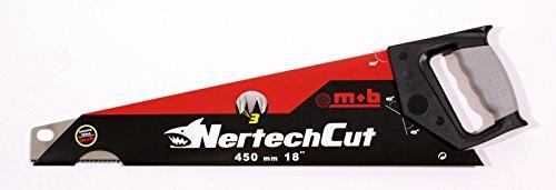 MOB Outillage 6348450001 Scie égoïne coupe fine NertechCut 450 mm