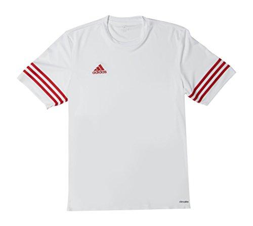 adidas Herren Trikot Entrada 14, weiß / rot , M, F50490