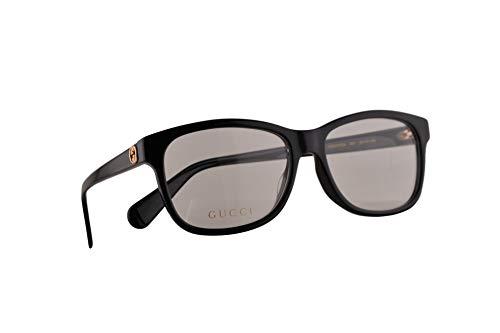 Gucci GG0374OA Brillen 55-16-145 Schwarz Mit Demonstrationsgläsern 001 GG 0374OA