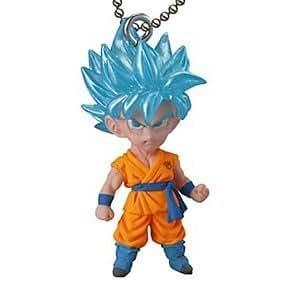 Dragon Ball Cho Figure Swing Keychain~UDM The Best 11~SSGSS Goku~Resurrection F
