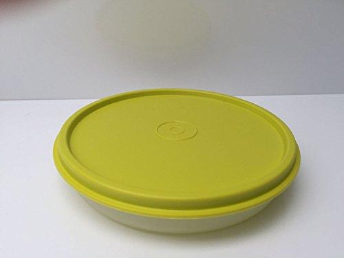 Tupperware Hitparade verschiedene Farben 300ml 300 ml Dose mit Deckel auslaufsicher mit Hängedeckel Clarissa Panorama (lime) Großes Tupperware Salat Schüssel
