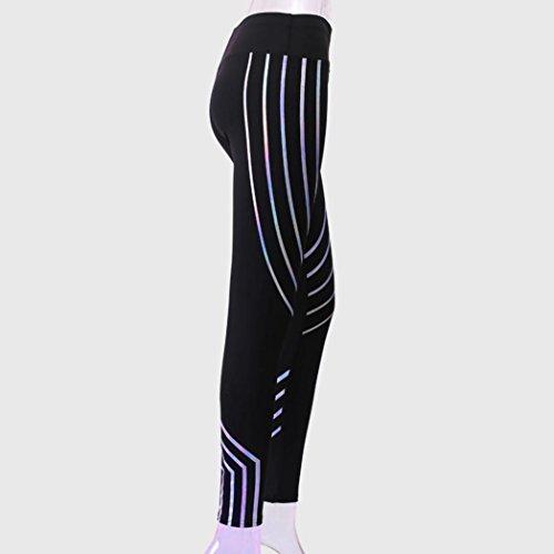 Pantaloni sportivi per donna Delle Donne Push Up Hip Leggings Fitness Ragazze traspirante Fitness Leggins Signore A Vita Alta Legins Morwind Nero