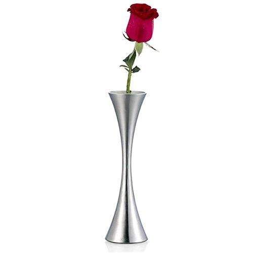 Mylifeunit metal Flower vase-clessidra Bud Vases