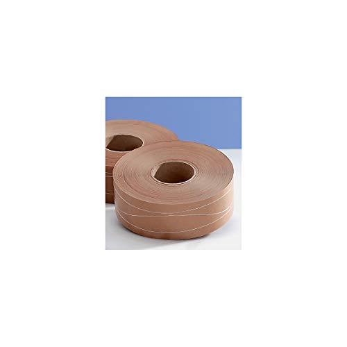 Nassklebeband - 3-fach fadenverstärkt, Bandlänge 200 m, VE 12 Rollen - Klebebänder Klebebänder Packbänder Packbänder Nassklebebänder Nassklebebänder