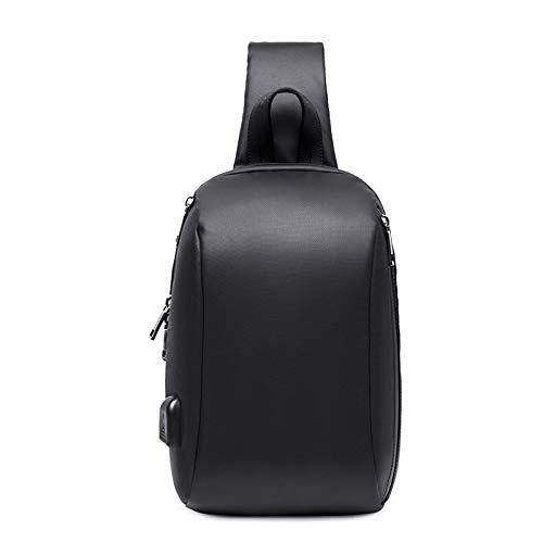 Brusttasche - Umhängetasche Für Herren Multifunktionstasche Mit Großer Kapazität Kleine Umhängetasche In Schwarz 32 * 22 *   9 cm -
