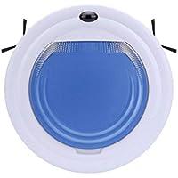 SUN HUIJIE Robot de Barrido Robot Inteligente de pequeño hogar Aspirador multifunción Máquina de Limpieza Ultrafino (Color : Azul)