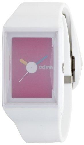 odm-dd132-04-reloj-analogico-de-cuarzo-para-mujer-correa-de-silicona-color-blanco