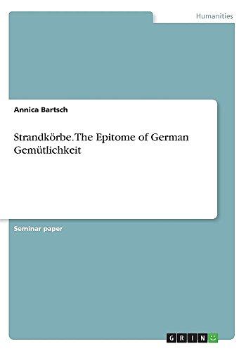 Strandkörbe. The Epitome of German Gemütlichkeit