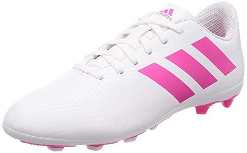 Adidas Nemeziz 18.4 FxG J, Zapatillas de Deporte Unisex niño, Multicolor (Ftwbla/Rossen/Rossho 000), 38 2/3 EU