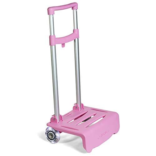 Carro Luminoso Rosa para Mochilas Busquest