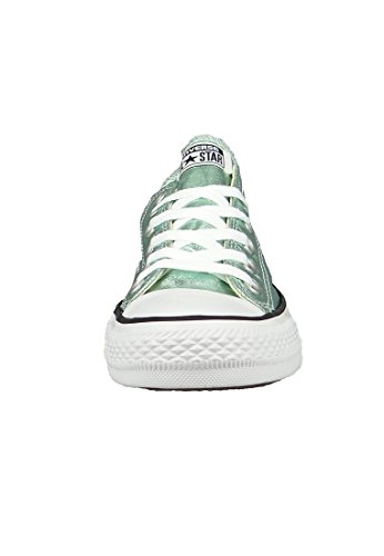 1J793 Converse Mandrini Charcoal Grey Chuck Taylor All Star HI Jade Black White