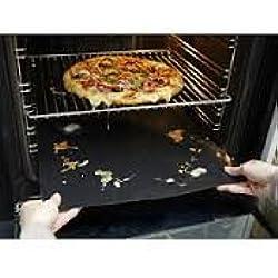 CleanZone - Feuille de cuisson en Téflon; 50cm x 40cm - Anti-adhérentes - 5 ans de garantie