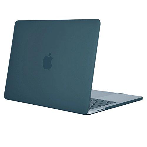 MOSISO MacBook Pro 15 Hülle 2017 & 2016 Freisetzung A1707 - Ultra Slim Hochwertige Plastik Hartschale Tasche Schutzhülle Snap Case für Neueste MacBook Pro 15 Zoll mit Touch Bar und Touch ID, Deep Teal (Macbook Pro 15in Shell)